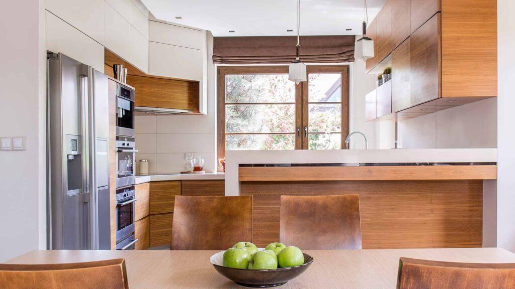 Kitchen designing interiors